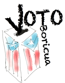Original voter concept art. It was used for t-shirts.
